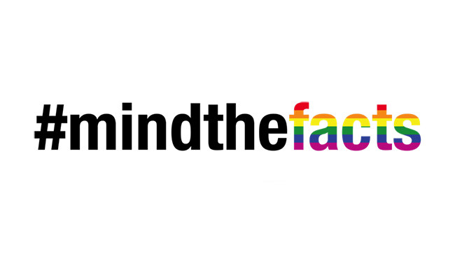 Mind the facts logo
