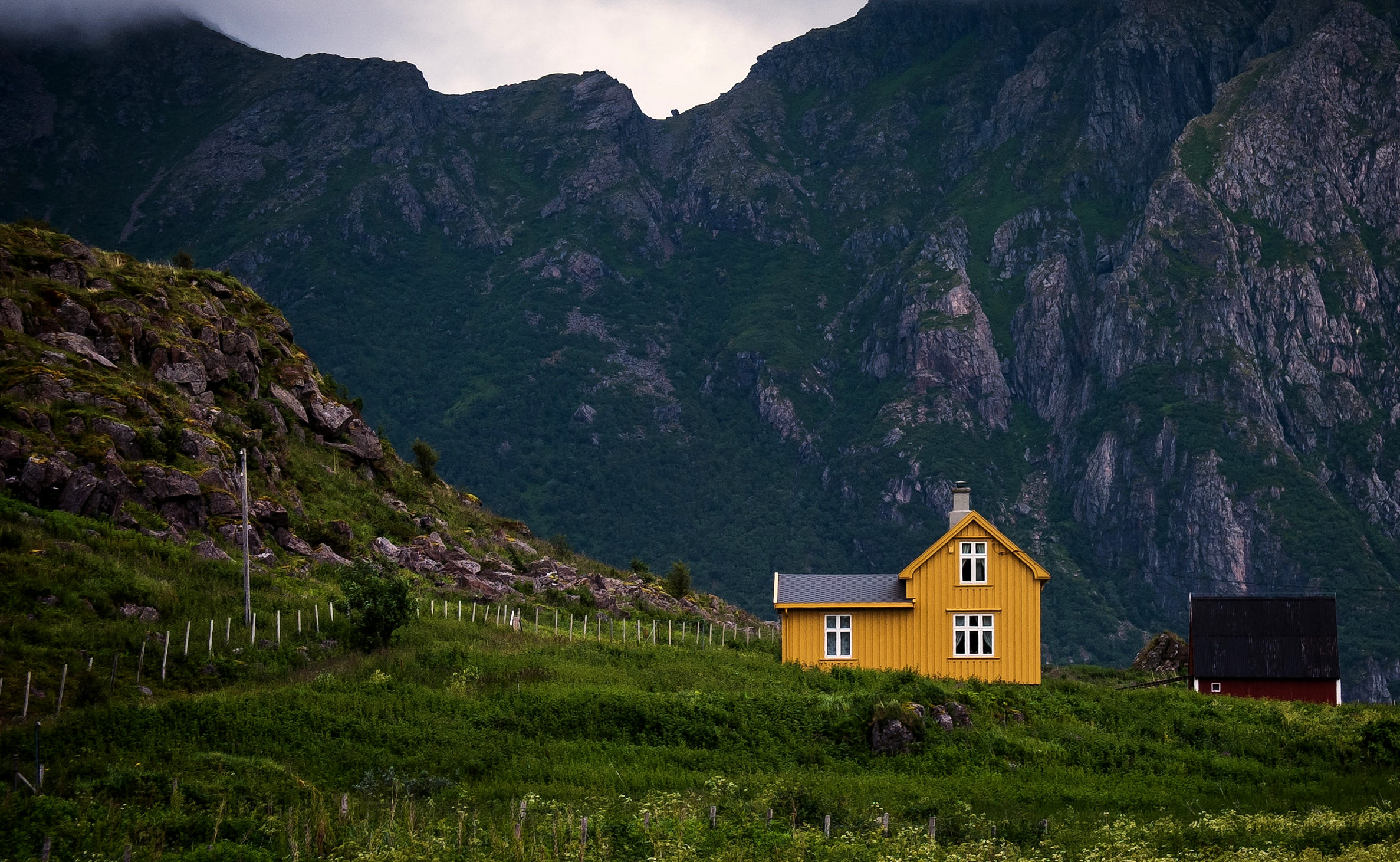 Finnish home in the mountains