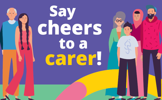 Say cheers to a carer