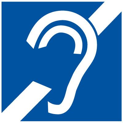 hearing impairment symbol
